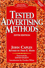 tested advertising methods book cover