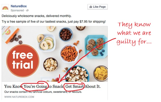 NatureBox ad example